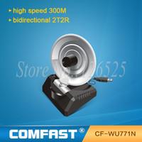 comfast - USB Wireless LAN Adapter Mbps n g b Radar WiFi Antenna Wireless signal receiver transmitter COMFAST CF WU771N