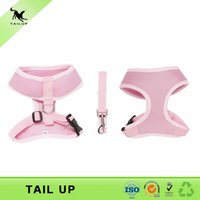 best puppy collar - Solid Pink Color Cute Puppy Harness Set Best Selling Dog Harness