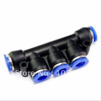 Wholesale 10pcs mm Union Triple Pneumatic Tube Quick Connector directly from manufacturer order lt no track