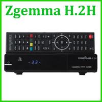 enigma tarjeta 5PCS original ZGEMMA H.2H doble núcleo receptor de satélite ZGEMMA ESTRELLA H.2H Combo Receptor DVB-S2 DVB-T2 / C 2 SD de la ayuda