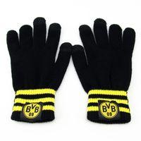 Wholesale Bag football fan supplies Dortmund winter training warm gloves