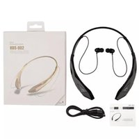 Wholesale HBS902 Bluetooth wireless Headphone CSR HBS HBS Earphone headset Sports neckband for iphone plus Samsung Galaxy s5 s6 edge DHL