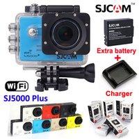 action plus - Original SJCAM SJ5000 WiFi Action Camera sj5000 plus Waterproof Sport Cameras Ambarella P Full HD FPS video helmet Camcorder Car Dvr