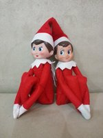 Wholesale Big Promotion cm The Elf The Shelf Plush Toy Action Figure Collection Vintage Toys Classic on Christmas Doll Gift Cheap Price CW0321