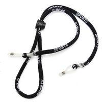 Wholesale Adjustable Eyeglass Holder Nylon Cord Sunglass Glasses Eyewear Neck Strap Black Eyewear Cord Neck Strap