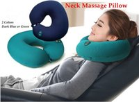 beauty sofa - 2015 Limited Corner Sofa Beauty Salon Furniture New U type Electric Massager Pillow Cushion Office car Nap Neck Care Six speed Adjustable
