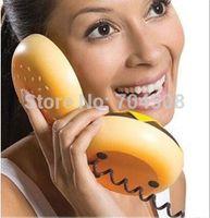 Wholesale CB2 New Novetly Juno Hamburger Cheeseburger Burger Corded Phone Telephone Gift
