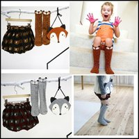 wholesale kids socks - HOT Kids Lovely D Fox socks Baby Boy Girl Leg Warmers stocking suitable for Y Cotton Animal image DHL free ship MOQ pairs SVS0331
