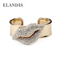 indian jewelry - 2014 Pulseira Indian Jewelry ELANDIS Brand America And Europe Popular Full Lips Fashion Bracelets For Women Jewelry BL03907