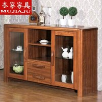 Wholesale Chinese style furniture solid wood dining room furniture sideboard cabinet wine cabinet