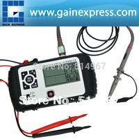 Wholesale Pocket size Single channel Oscilloscope Rechargeable Digital Scopemeter Multimeter DC AC Voltage Capacitor Diode Resistance