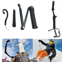 Wholesale Gopro Accessories way Grip Arm Tripod Monopod way Mount For Go pro Hero xiaomi xiaoyi sj4000 sports camera