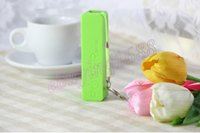 Wholesale 2600mAh Power bank USB Power Bank Portable External Battery Charger for iphone5 S for Samsung galaxy battery