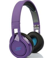 SMS Audio STREET de 50 Cent casque filaire sur l'oreille pour les jeux Gamer vélos Sport Musique MP3 CellPhone Ordinateur Sport Universal Casque