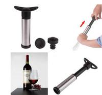 bottle sealer - Creative Home Wine Bottle Vacuum Sealer Wine Bottle Saver Vacuum Preserver Pump Sealer Bar Stopper