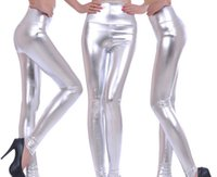 Cheap 19 Style NWT Europe 2015 Spring Women Pencil Faux Leather Pants High Waist Big Girls Fashion Sexy Long Leggings Lady Skinny Trousers L2315