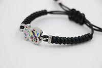 Wholesale new women bracelets little bear bracelet cute bear bracelets knit bracelet