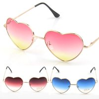 Fashion best ladies sunglasses - Fashion Sun glasses Love Heart Shape Reflective Sung lasses Lady Women Designer Sunglasses Vintage Oculos De Sol Feminino best sunglasses