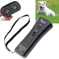 Wholesale High Quality Newest Ultrasonic Dog Chaser Stop Aggressive Animal Attacks Repeller w Flashlight