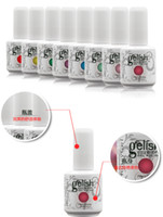 Wholesale 2016 Hot Makeup Gelish Nail Polish Soak Off Nail Gel For Salon UV Gel Colors ml