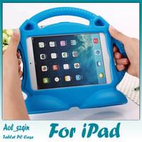 Wholesale EVA D Cute Cartoon Thomas Children Kids Shockproof Designed Skin Shell Case for iPad air air2 ipad mini colors choice