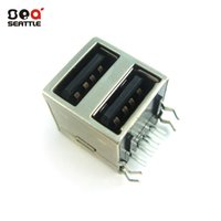 Wholesale Manufacturers specializing in the production of electronic components USB female seat all inclusive plug socket female