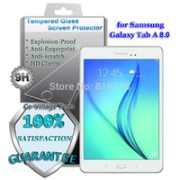 Wholesale Premium H Explosion proof Tempered Glass Screen Protector for Original Samsung Galaxy Tab A LCD Guard for SM T350