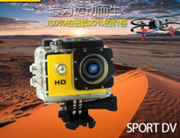 action sports camp - Good SJ4000 style A9 Inch LCD Screen P Full HD Action Camera M Waterproof Camcorders SJcam Helmet Sport DV Car DVR by DHL