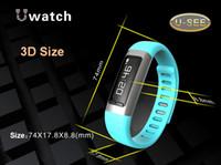 Wholesale U9 U See Smart Sports watch Wristband Bluetooth Waterproof Bracelet WIFI USB Wearable Healthy U9 U Watch For iPhone Android Cell Phone