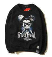 ashin mayday - 2015 Tide brand new winter SR Ashin Mayday robot glasses Mickey cartoon printed long sleeved sweater