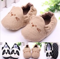 new model shoes - 2015 Spring autumn new infant prewalker cartoon modelling toddler baby shoes cotton knit fabrie newborn shoes pair fit age ab1579