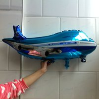 ballon helicopter - cm helicopter foil balloon airplane shaped helium ballon for boy s birthday gift high quality