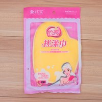 Wholesale 10pcs Colorful Mesh Sponges Bath Brushes Scrubbers Soft and Comfortable Bathroom gloves body wash Sponge