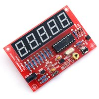 Wholesale MHz Crystal Oscillator Frequency Counter Tester DIY Kit Digits Resolution