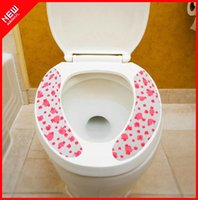Cheap New Arrival Travel Portable Antibiotic anti-odor toilet mat toilet seat toilet cover paste type cushion wash thermal pad