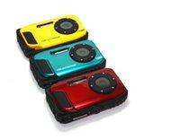 Wholesale Waterproof Digital Camera Mega pixels with digital Zoom quot Screen gift Camera Total Battery