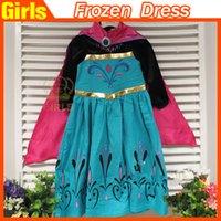 El año 2015 los Niños niños ropa congelado vestidos de las niñas de la princesa vestidos de ropa de niños moda vestido de Encaje tutu falda de tul