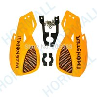 Wholesale ORANGE COLOR motorcycle handguard handguards motocross MM