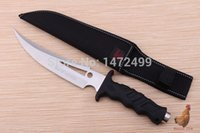 Wholesale Hot Honor K281 Cr13Mov outdoor camping survival knife hunting knife HRC Tactical Straight Knife