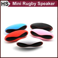 Wholesale X6 X6U Mini Rugby Bluetooth Speaker Multi functional Portable Soccer Wireless Loudspeaker With Hands free U Disck TF Card MP3 Music Play