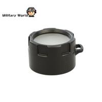 Wholesale Original Olight DM10 Flashlight Diffuser Lens Filter for Olight S10 S15 S20 ST25 M10 M18 High Resistance for Hunting Military order lt no tr