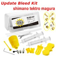 Wholesale EZ Upgrade bike Hydraulic Disc Brake Bleed Kit for Shimano all item M355 M505 Tektro Full Series Magura MT2 MT4 MT6 MT8