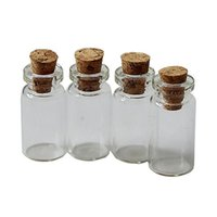 Wholesale New sale Cork Stopper Glass Bottles Vials Container Size24x12mm ZH210