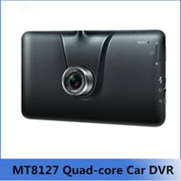 android motion camera - The new quot GPS navigation Android FHD P Car DVR Camera Recorder Car GPS MT8127 quad core Map of Core Navitel or Europe