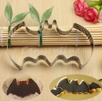 batman cookie cutter - halloween supplies Cute Stainless Steel Halloween Fondant Cookies Biscuit Cutter Mold Batman Vampire Cake halloween Decor Mould D1513