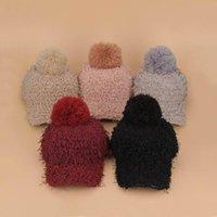 baseball cap knitting pattern - Colors Hot Women Girl Female Lovely Cute Pattern Knitting Cotton Wool Plush Autumn Winter Warm Baseball Caps END