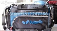 Wholesale Table tennis package Butterfly TBC table tennis training package travel bag to send independent shoe bag