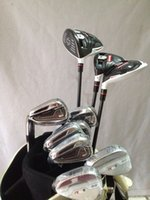 Wholesale Left handed Rsi1 Complete set Golf clubs R15 driver R15 fairway woods Rsi irons PAS Free headcover