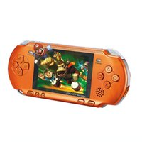 Wholesale 16 bit handheld game player MD with video games portable and tv support portable console cact
