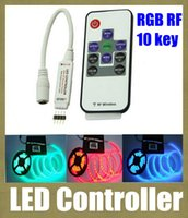 remote controller - led controller wireless rf remote control rgb led controller programmable for remote controlled battery operated led light key v DT005